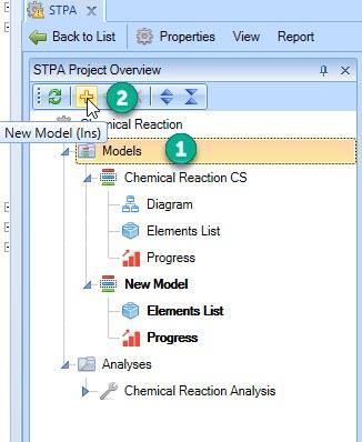 Create new CS model